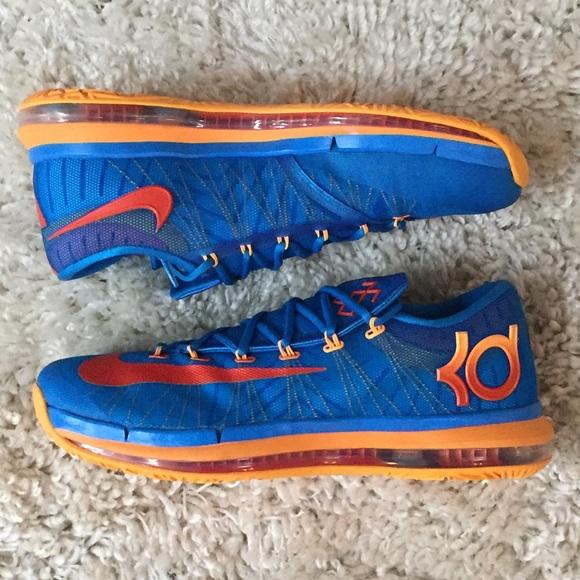 cheap for discount 28df5 311ff Nike Kevin Durant KD 6 Elite Team 642838-400 12. M 5c5393041b329469c47d3c25
